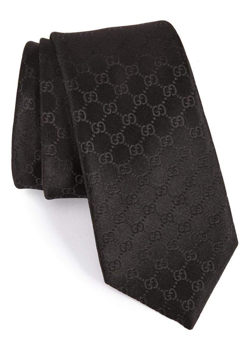 34088f0e6 Gucci Gucci Federa Silk Jacquard Tie | Ties