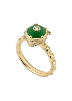 Gucci Le Marché des Merveilles Feline Head Ring
