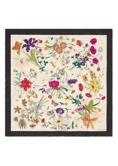 Gucci Flora Gothic Silk Scarf