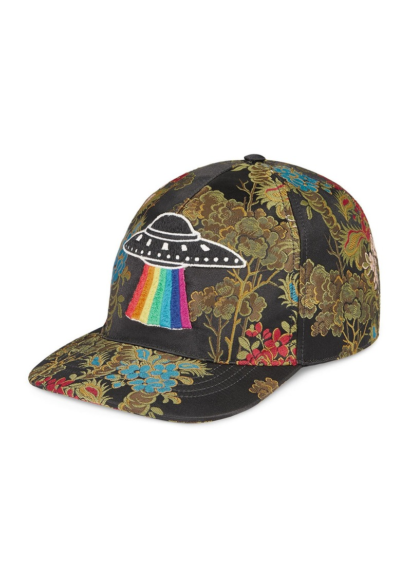 On Sale today! Gucci Gucci Floral Baseball Cap with UFO 13a4b8a8792f