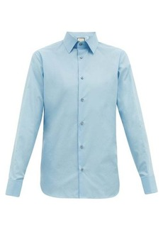 Gucci French-cuff cotton-poplin shirt