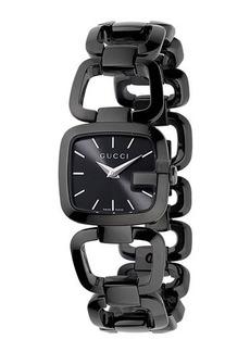 Gucci G-Gucci Small Black PVD Bracelet Watch