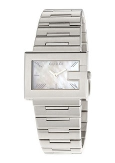 Gucci G-Rectangle Stainless Steel Watch
