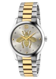 Gucci G-Timeless Bee Bracelet Watch, 38mm