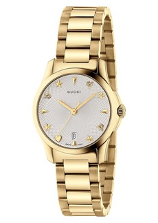 Gucci G-Timeless Bracelet Watch, 27mm