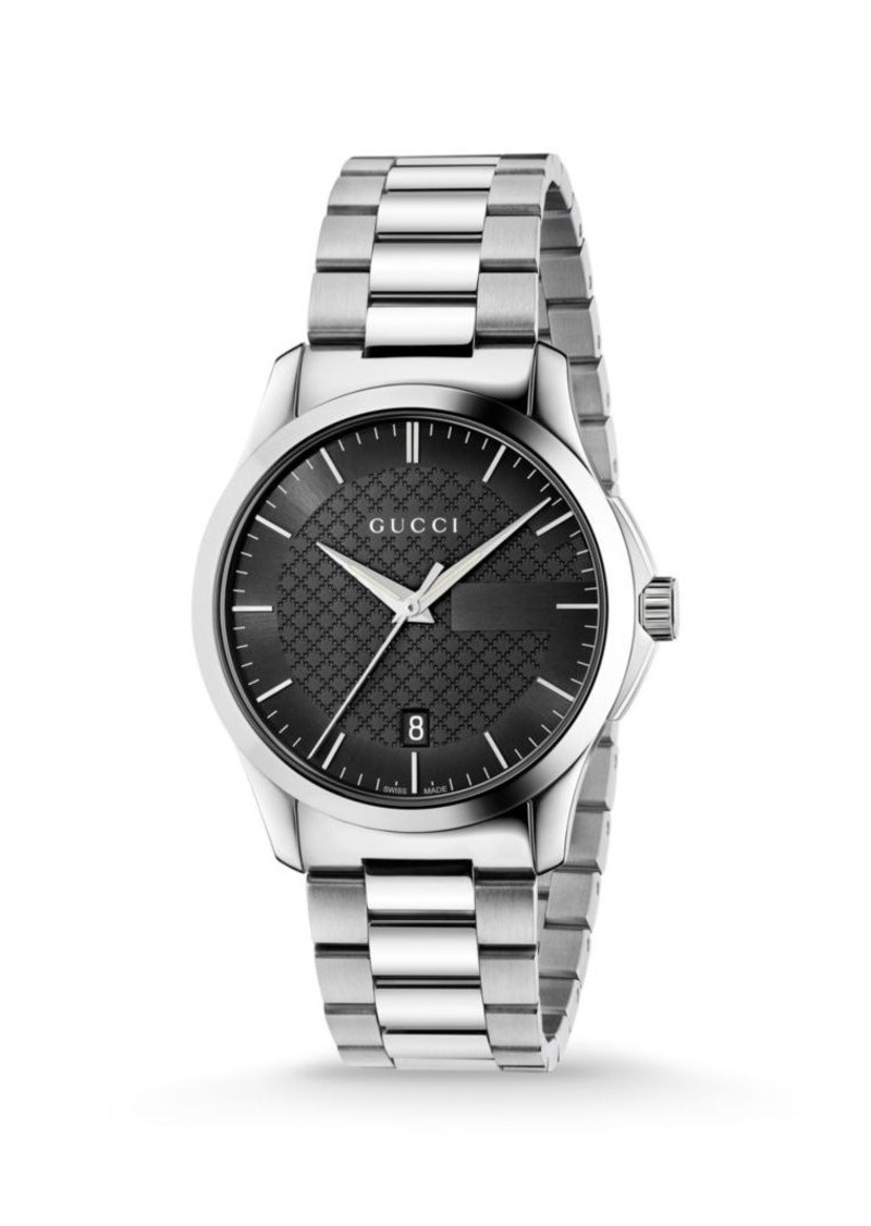Gucci G-Timeless Stainless Steel Bracelet Watch