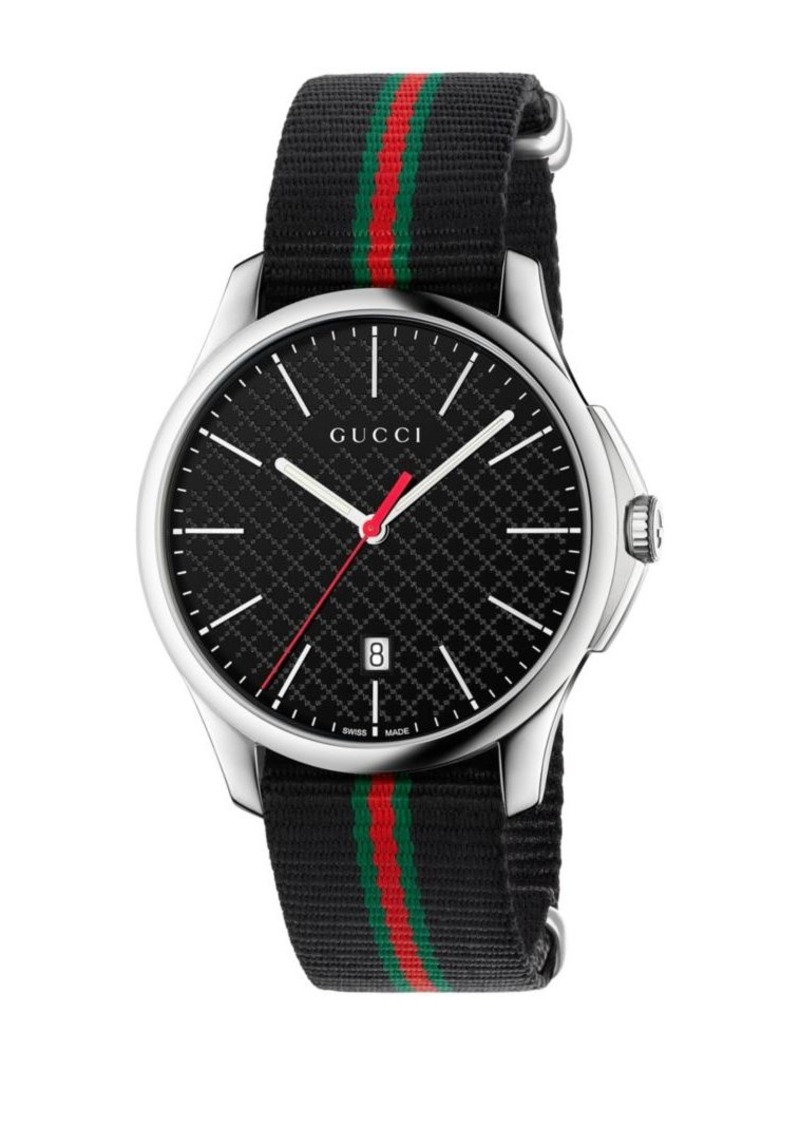 9be2ad0ba96 Gucci Gucci G-Timeless Stainless Steel Watch