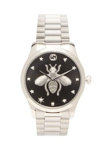 Gucci G-Timeless stainless-steel watch