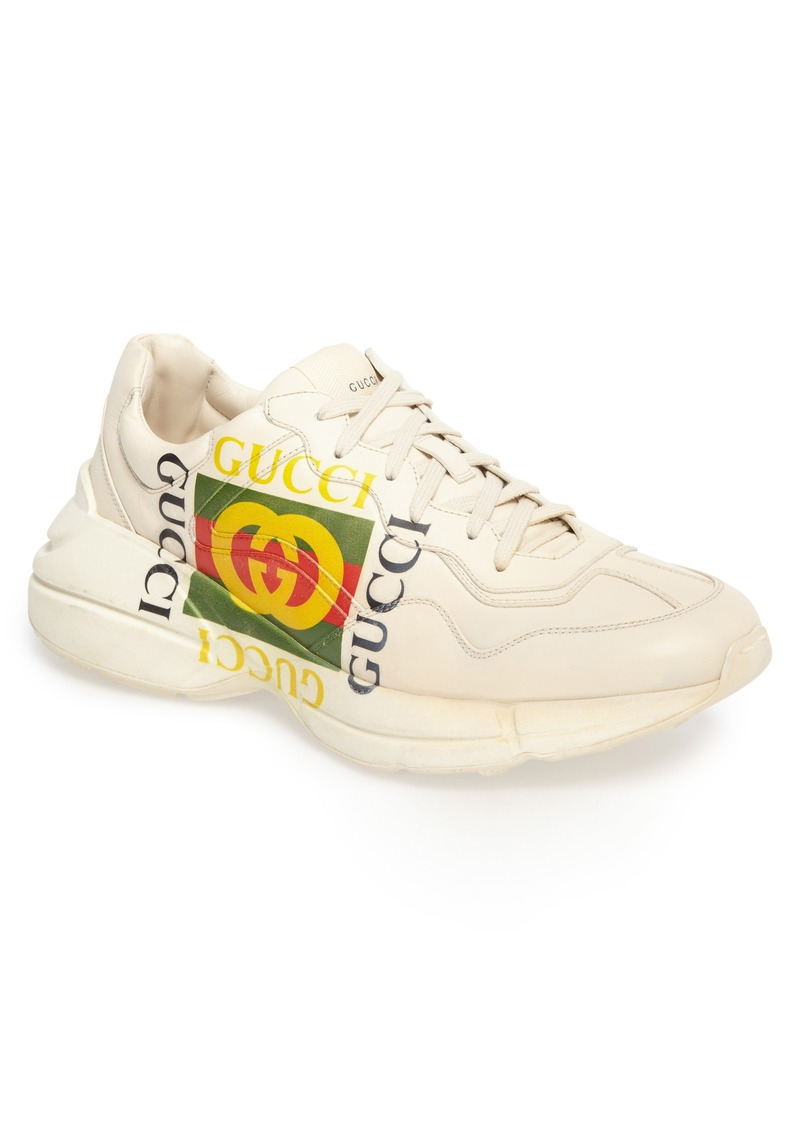 gucci gucci rhyton sneaker men shoes shop it to me. Black Bedroom Furniture Sets. Home Design Ideas