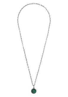 Gucci Garden Semiprecious Stone Pendant Necklace