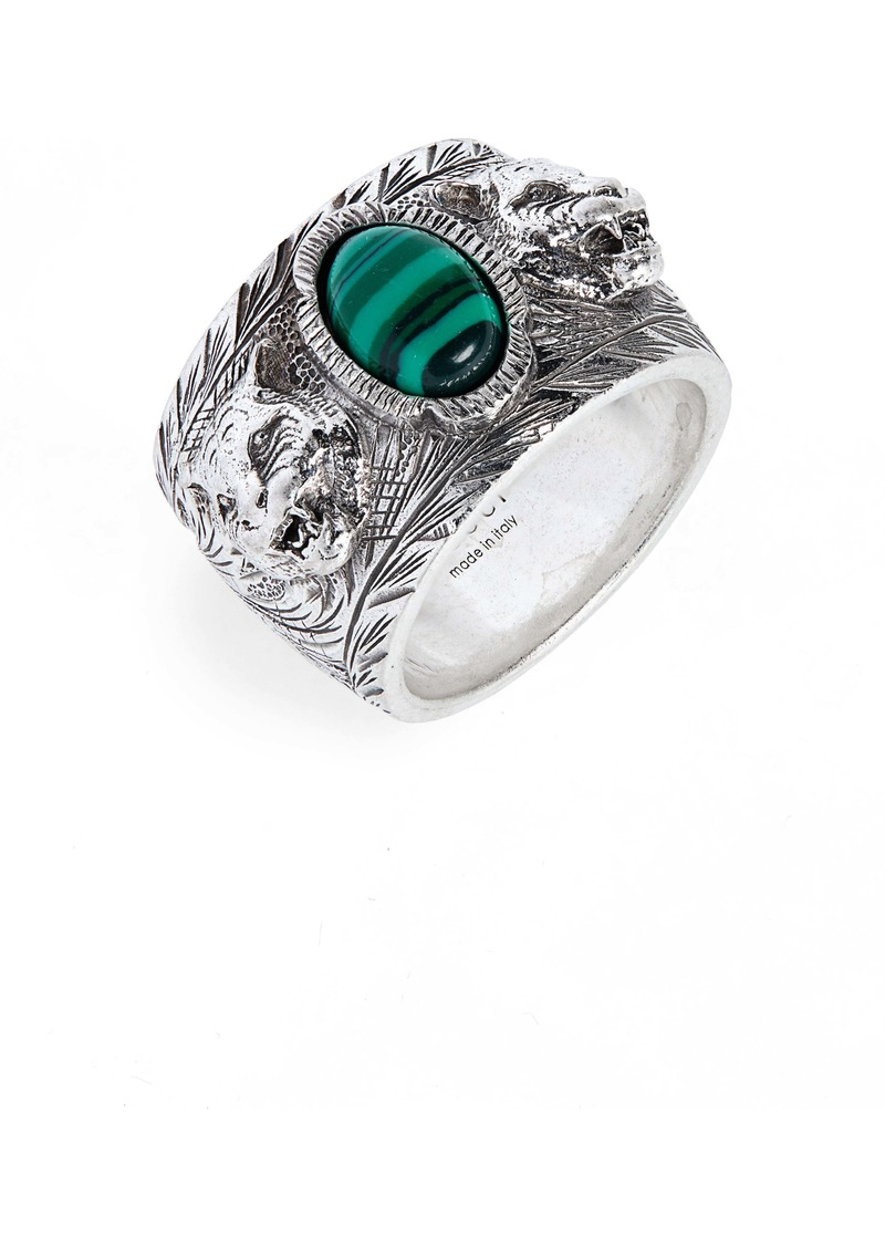 Gucci Garden Sterling Silver Ring