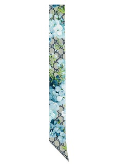 Gucci GG Blooms Skinny Scarf