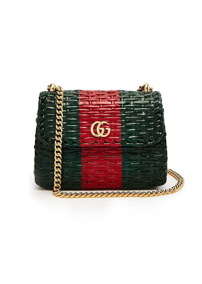 962fdeae3 Gucci Gucci GG Cestino woven-wicker mini cross-body bag | Handbags
