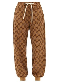 Gucci GG-diamond jacquard track pants