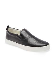 Gucci GG Embossed Slip-On Sneaker (Men)