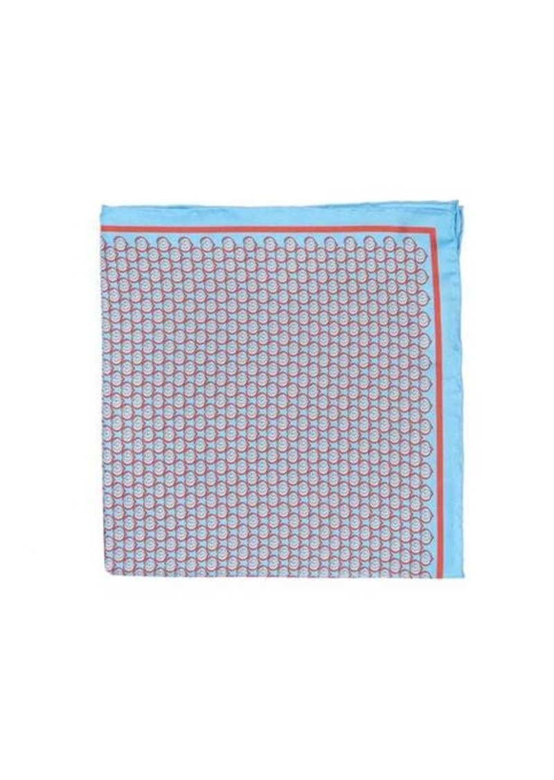 Gucci GG-heart silk-faille pocket square