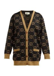 Gucci GG jacquard-knit wool-blend sweater