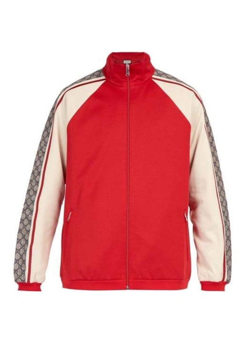 Gucci GG jersey track top