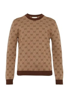 Gucci GG-knit wool-blend sweater