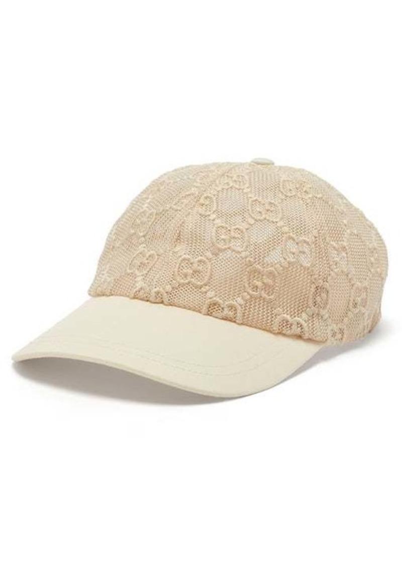 Gucci GG-lace baseball cap