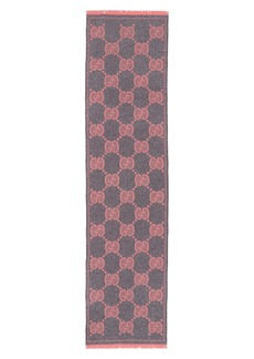 Gucci GG Lady Nest Lux Wool Blend Scarf