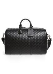 Gucci GG Leather Travel Duffel