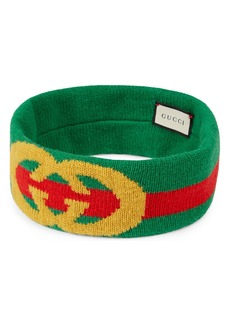 Gucci GG Lock Web Headband