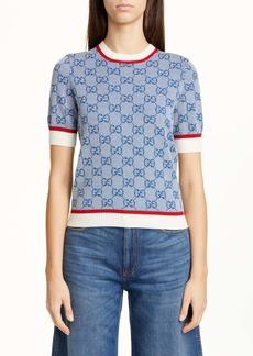 Gucci GG Logo Jacquard Sweater