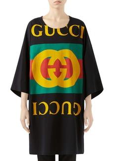 Gucci GG Logo Oversize Cotton Tee