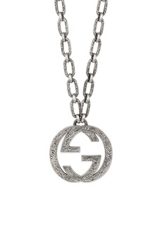 Gucci GG Logo Pendant Necklace