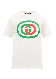 Gucci GG logo-print cotton T-shirt