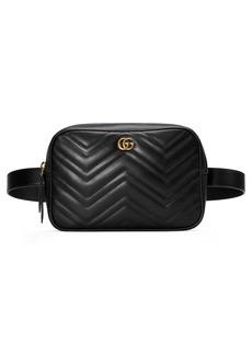 Gucci GG Marmont 2.0 Matelassé Convertible Leather Belt Bag