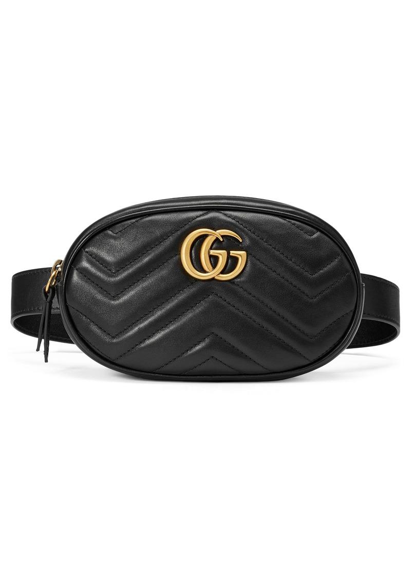 Gucci Matelassé Leather Belt Bag