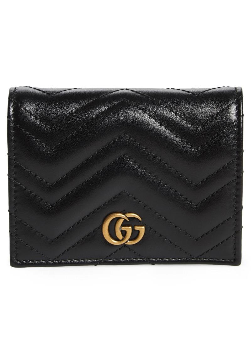 Gucci Matelassé Leather Card Case