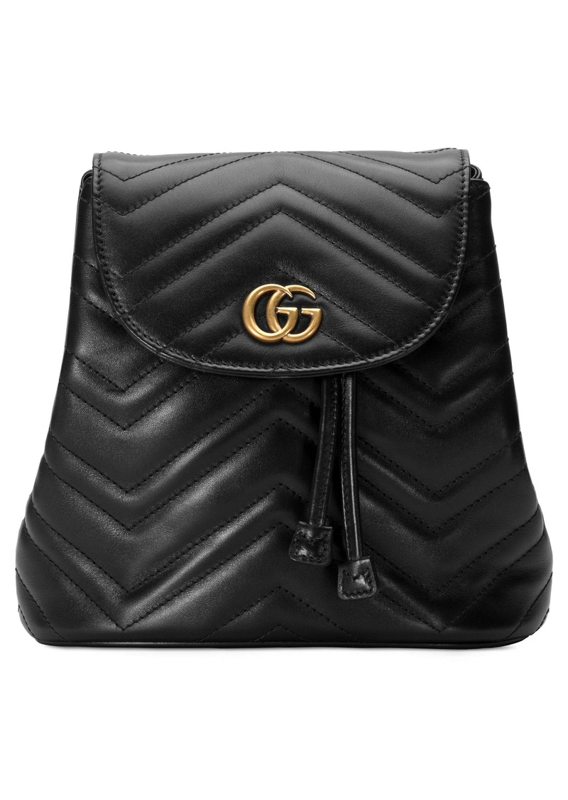 80d83253c8a8a2 Gucci Gucci GG Marmont 2.0 Matelassé Leather Mini Backpack | Handbags