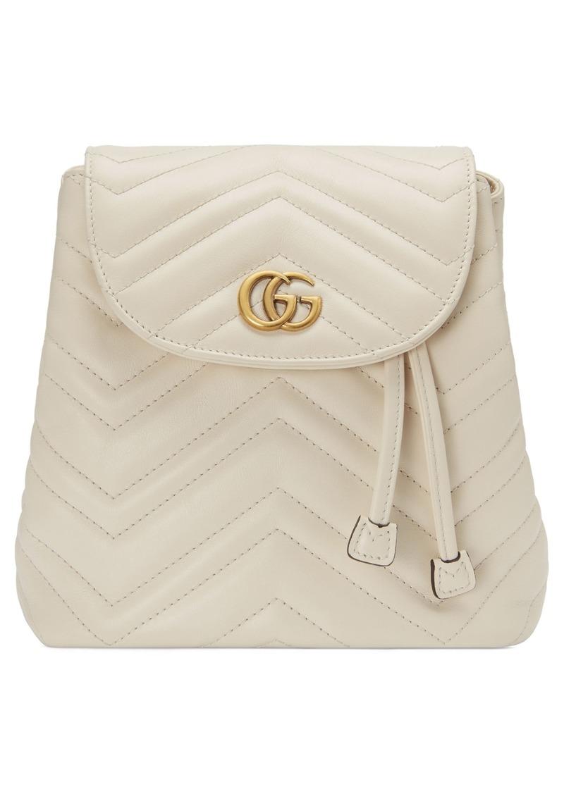 Gucci Matelassé Leather Mini Backpack