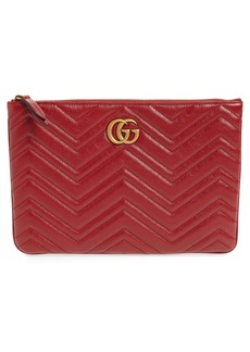f0892f49b71 Gucci Gucci Broadway GG Archive-P Leather Envelope Clutch