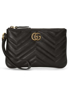 Gucci GG Marmont 2.0 Quilted Leather Wristlet