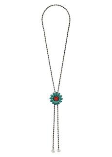 Gucci GG Marmont Bolo Necklace