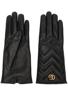 Gucci GG Marmont chevron gloves