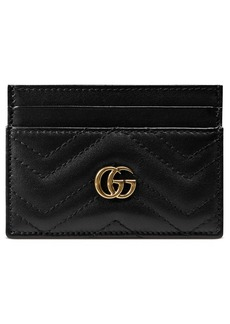 Gucci GG Marmont Matelassé Leather Card Case