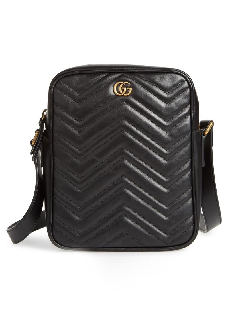 2bc22f1a459 Gucci Gucci GG Marmont Matelassé Leather Travel Bag