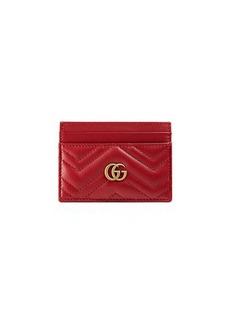 Gucci GG Marmont Matelasse Card Case