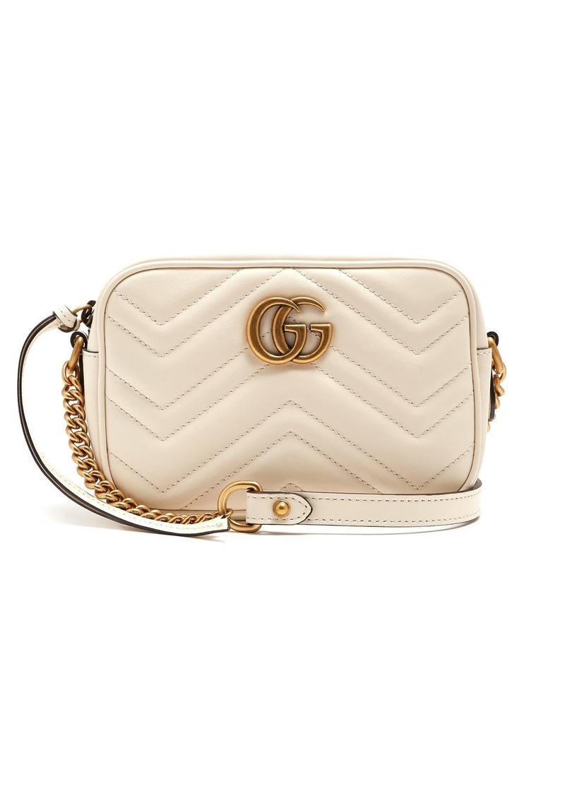 70c0a82ad625 Gucci Gucci GG Marmont mini quilted-leather cross-body bag | Handbags