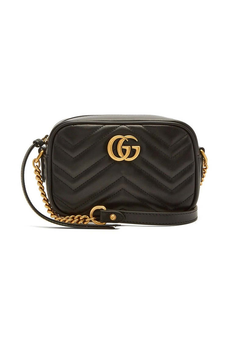 b0dfd7decbae Gucci Gucci GG Marmont mini quilted-leather cross-body bag | Handbags