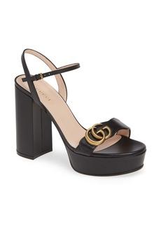 Gucci GG Marmont Platform Sandal (Women)