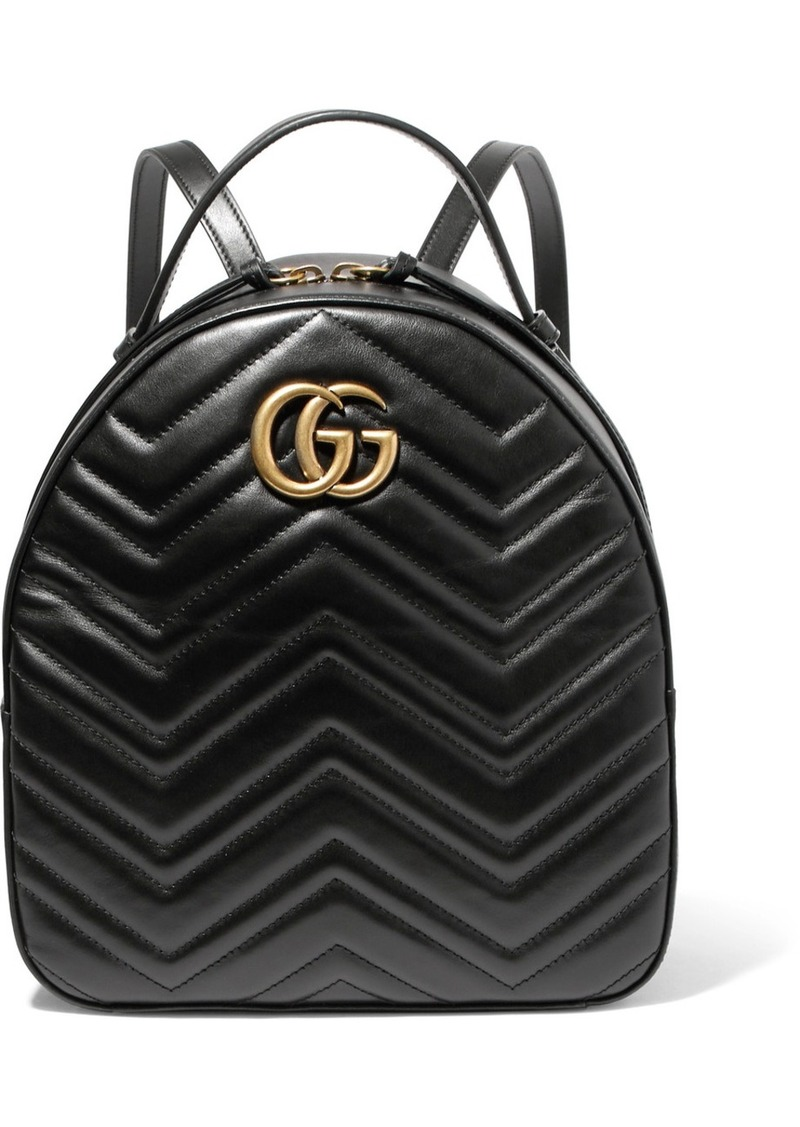 0435debbc83 Gucci GG Marmont quilted leather backpack
