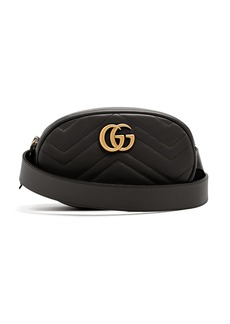 Gucci GG Marmont quilted-leather belt bag