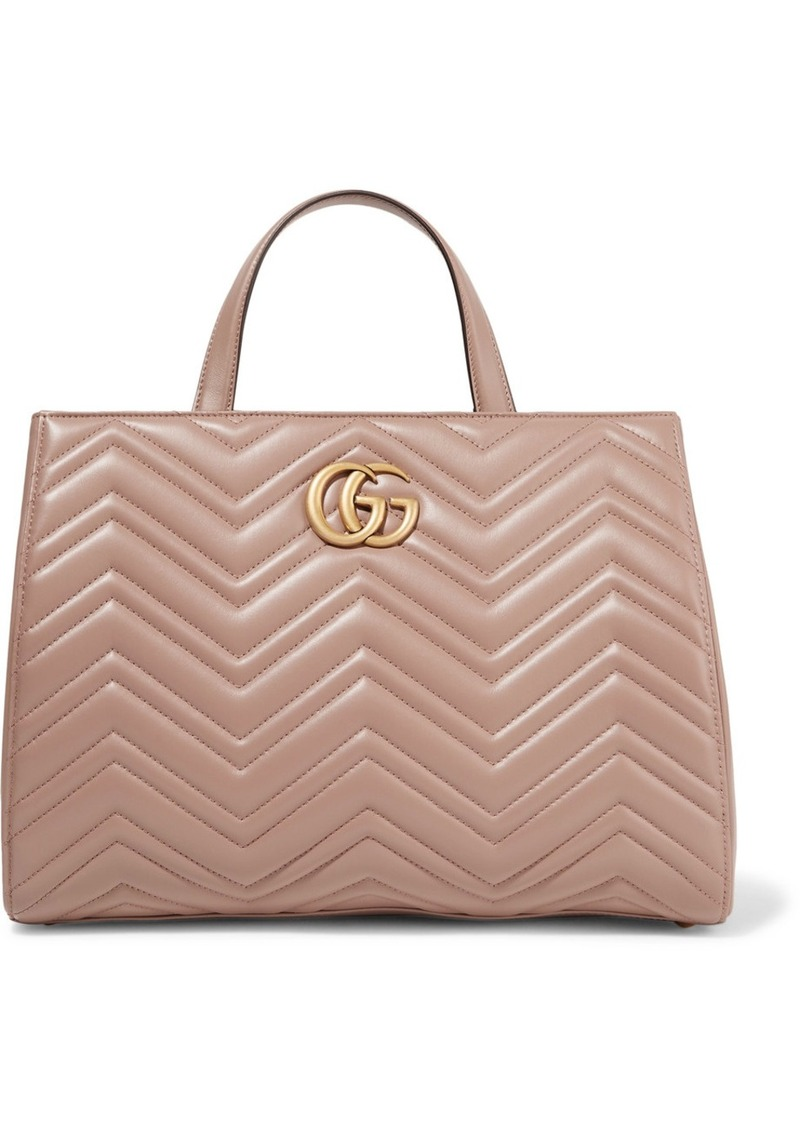 5fa6acb6d Gucci Gg Marmont Quilted Leather Tote | Handbags