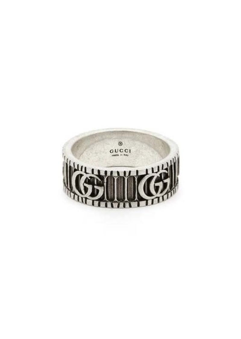 Gucci GG Marmont silver ring